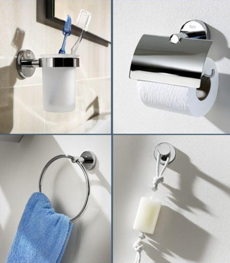 Accesorios baño sin taladro