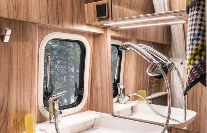 Espejo baño furgoneta camper