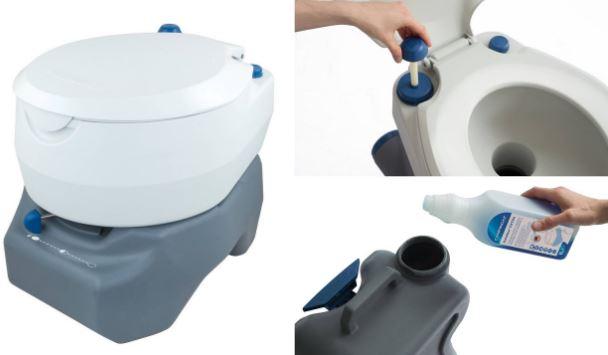 Líquido químico ecológico para wc portátil