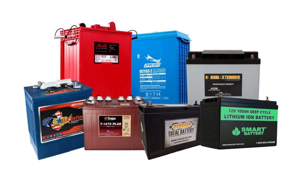 carga de un banco de baterias de ocio baterias de vehiculos recreativos